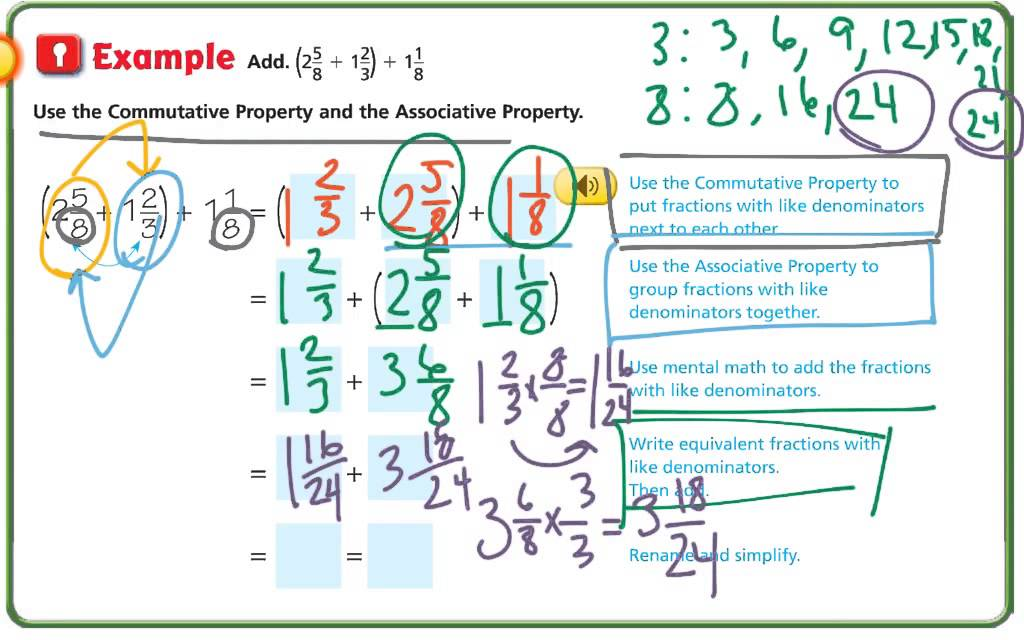 Lesson 6.10 Algebra Use Properties of Addition - YouTube