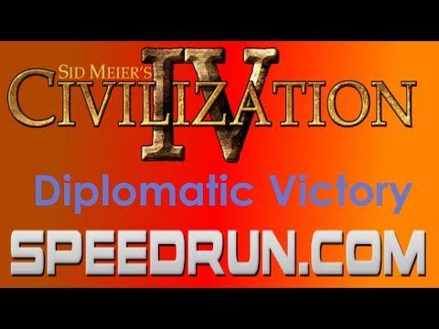 Sid Meier's Civilization IV Diplomatic Victory Speedrun in 18:49.45  