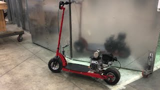 DIY Predator 212 Scooter