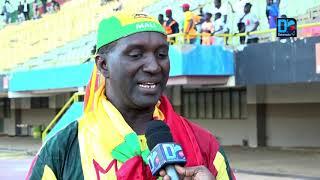Cheickna Demba, célèbre supporter malien, lance les hostilités en taclant les joueurs sénégalais