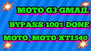 MOTO G ( 3rd gen ) FRP unlock latest 2017 tricks NEW
