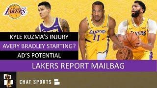 LA Lakers: Projected Starting Lineup, Kyle Kuzma Injury & Rajon Rondo vs. Avery Bradley   Mailbag
