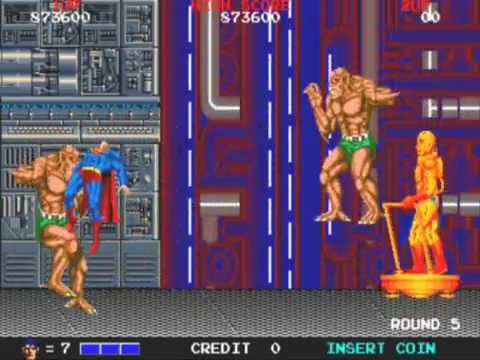 Superman arcade 1988 gameplay and ending