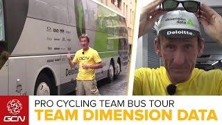Team Dimension Data For Qhubeka Bus Tour   Tour De France 2016