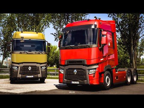 Renault Trucks T U0026 T High: Evolution - ETS2 New Truck
