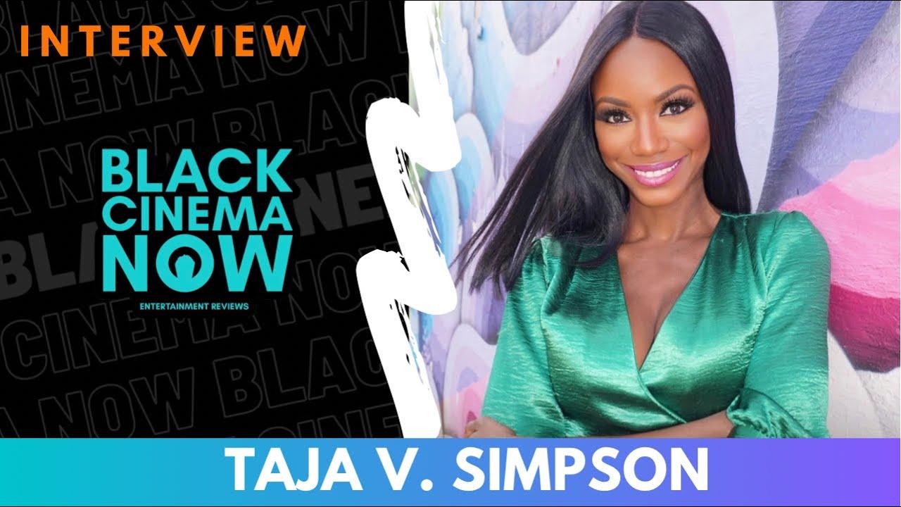 Taja V. Simpson Talks Tyler Perry's 'The Oval' & 'Lola'