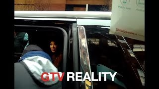 Kim Kardashian staying black on GTV Reality