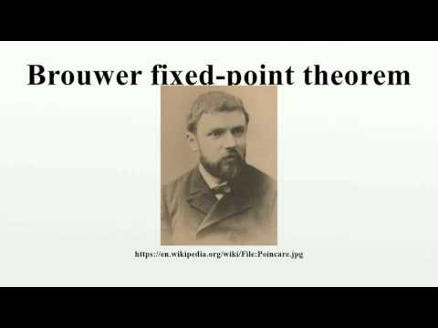 Brouwer fixed-point theorem