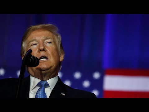 Trump delivers remarks to manufacturers group