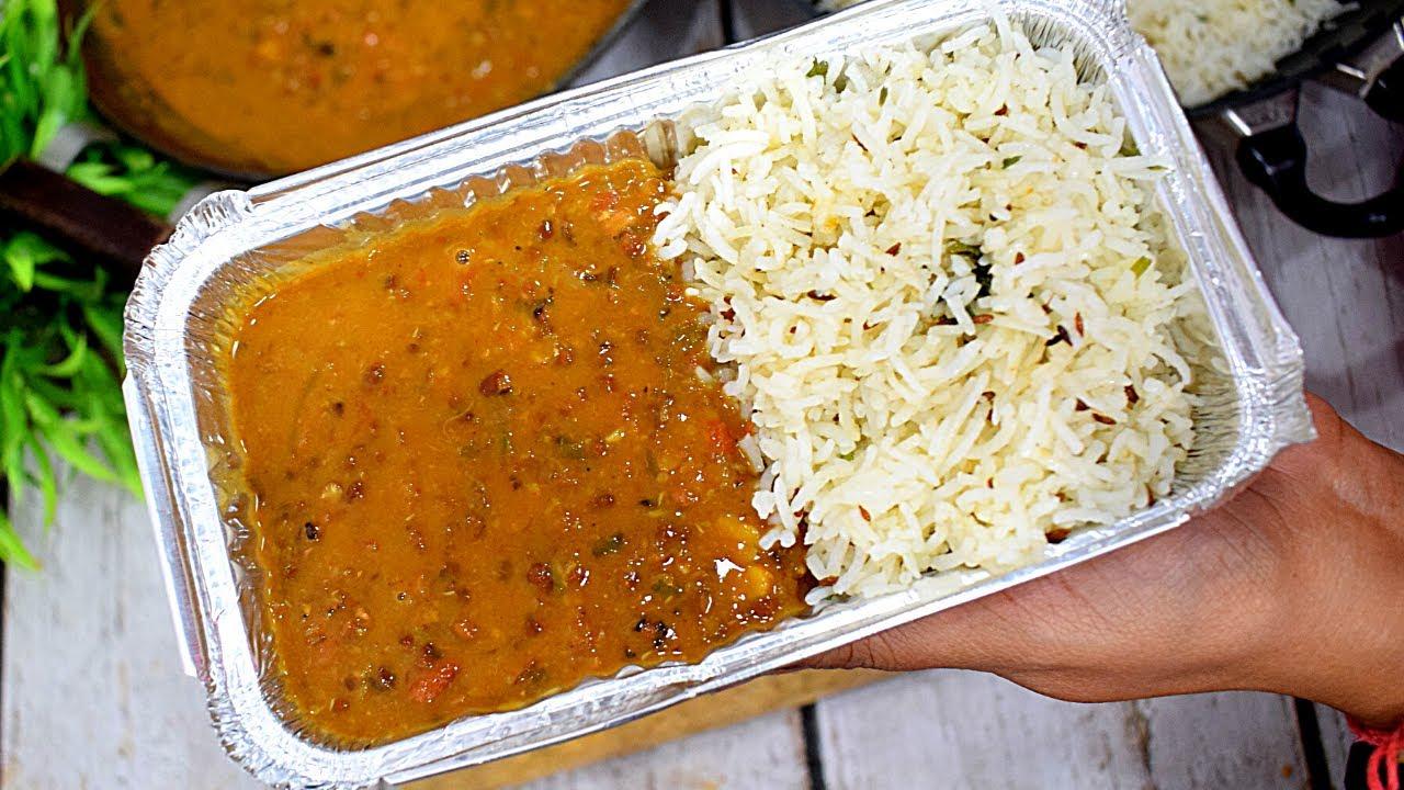 Dal Chawal Combo दाल चावल Dhaba Style Dal Chawal/DaL Chawal Recipe Dal Tadka Jeera Rice