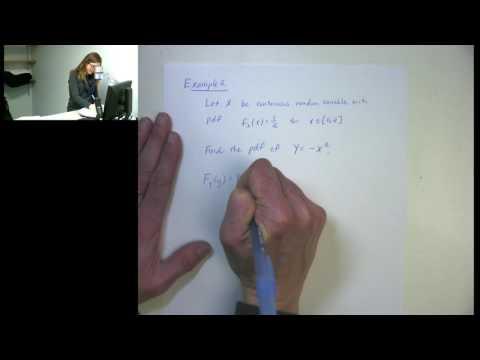Section 5 1 Distribution Function Technique