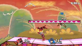 MasonEliwood (Incineroar) vs. Marth in Public Battle Arenas