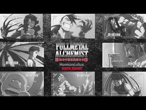 Homunculus death scenes - Fullmetal Alchemist brotherhood