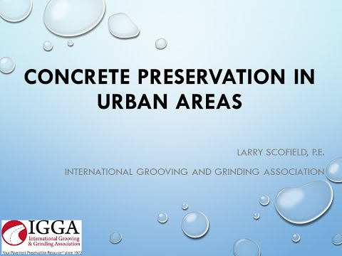 5 - RMWPPP15 - Concrete Preservation in Urban Areas