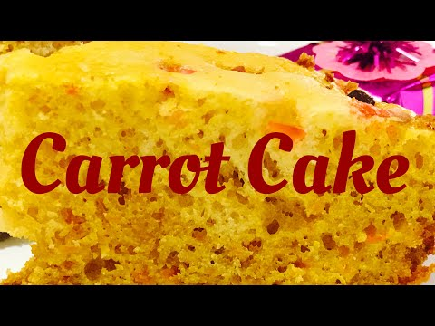 Recipe 11- Carrot Cake- Easy And Moist At Home| No Oven-no Cooker Method| New Year Cake Recipes