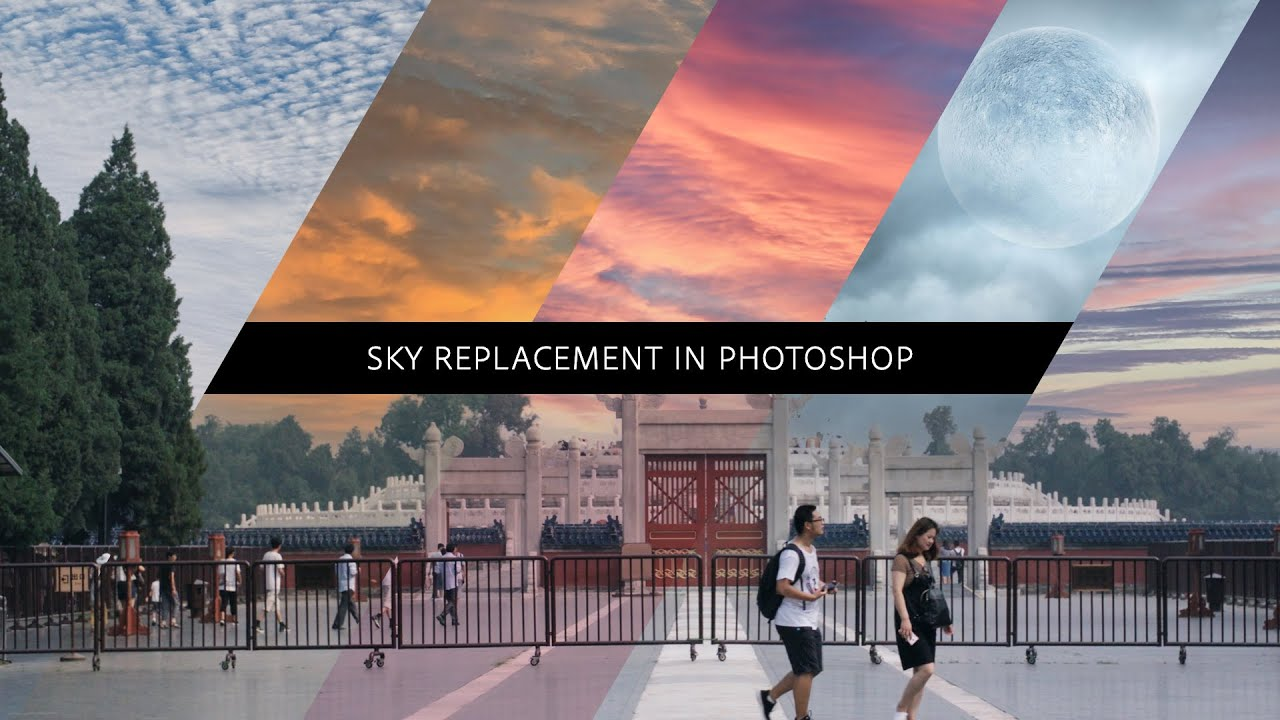 Sky Replacement in Photoshop
