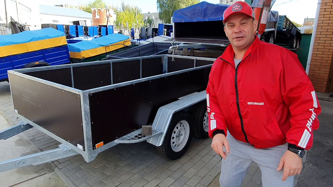 Прицеп 2-х осный  Лукашенко Вадим. 0672387170.