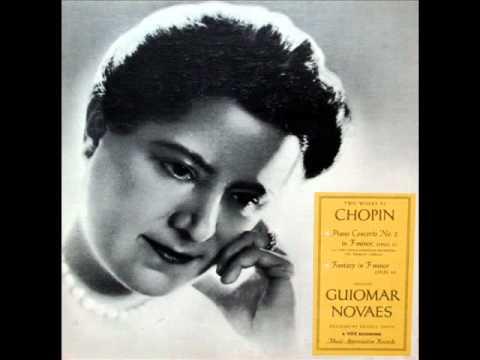 Chopin / Guiomar Novaes, 1957: Fantasy in F minor, Op. 49