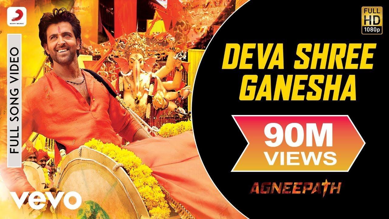agneepath - deva shree ganesha video | hrithik roshan, priyanka