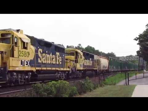 Railfanning Upstate NY: Featuring CSX, Amtrak, Santa Fe & UP Trains
