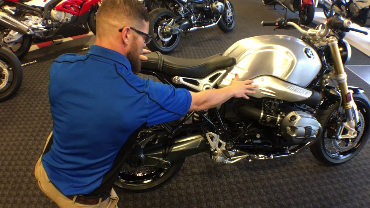 BMW R Ninet >> 2016 BMW RnineT Aluminum Tank with Weld Delivery from Frontline Eurosports - YouTube