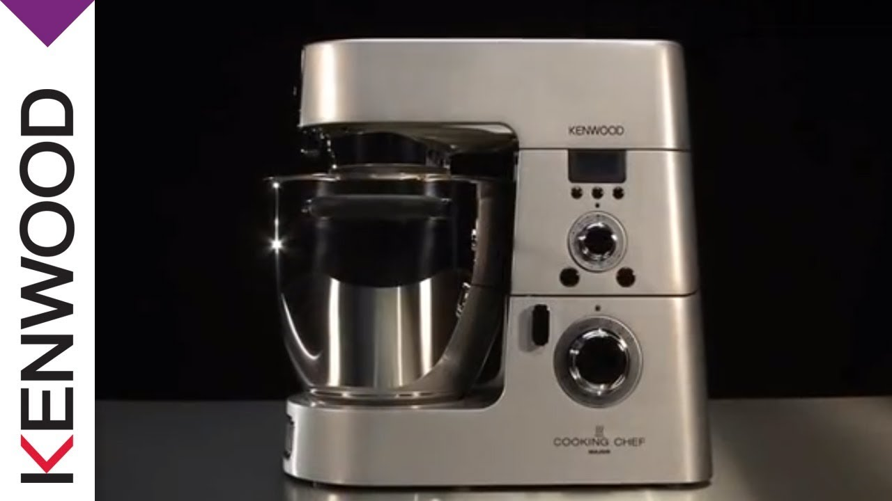 The History of The Kenwood Cooking Chef Kitchen Machine