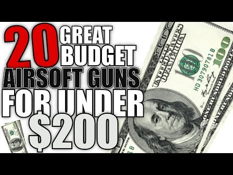 20 Budget Airsoft Guns For Under $200 - Airsoft Beginners Guide