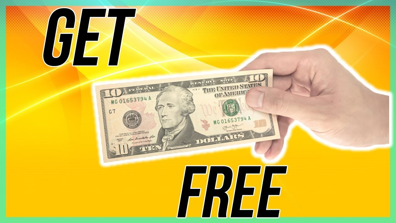 How To Get $10 FREE MONEY (2018) - YouTube