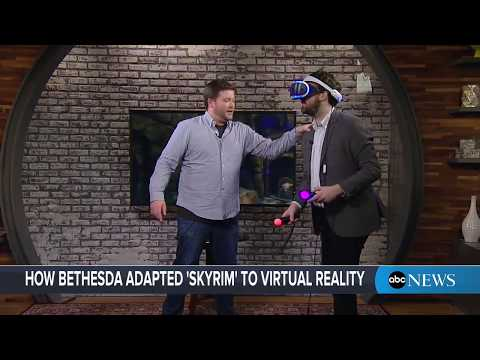 'Skyrim VR' demo: Play test the new 'Elder Scrolls' virtual reality game