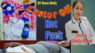 Tulong Para Mabuntis | Castor Oil Pack