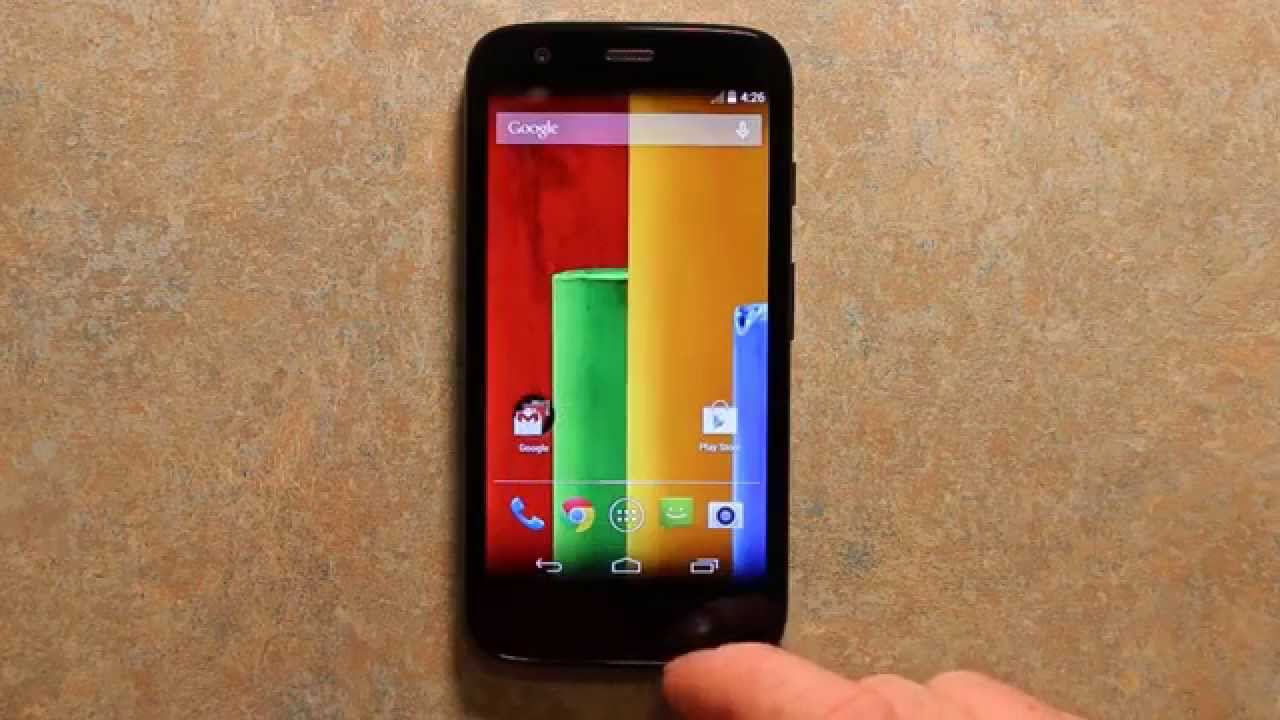 Motorola Moto G Verizon Prepaid Smartphone