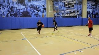 How to Do the Backdoor Play | Basketball Moves