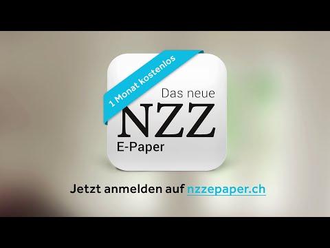 NZZ-E-Paper – Optimierte Zeitungsausgabe für Smartphone und Tablet