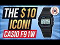 5 Minute Watch Review - The $10 Icon - Casio F91W