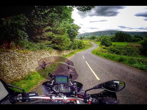 Tour of the North by BMW R1200GS Ep4 - The Buttertubs Pass to Malton