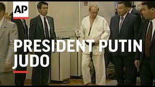 JAPAN: TOKYO: RUSSIAN PRESIDENT PUTIN: JUDO (V)
