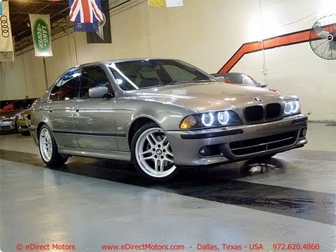 2003 bmw 540i m sport edirect motors youtube. Black Bedroom Furniture Sets. Home Design Ideas