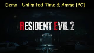 Resident Evil 2 Demo   Unlimited Time & Ammo [PC Trainer]