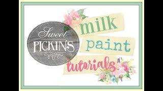 Sweet Pickins Milk Paint 101 with Jami Ray Vintage!