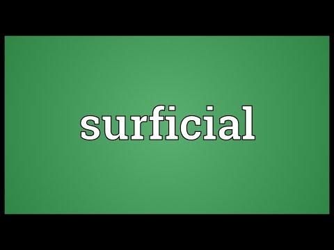 Header of surficial