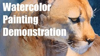 LIVE - Watercolor Painting Demo