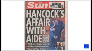 Caught on Camera Matt Hancock's shame as affair and breaking covid rules revealed