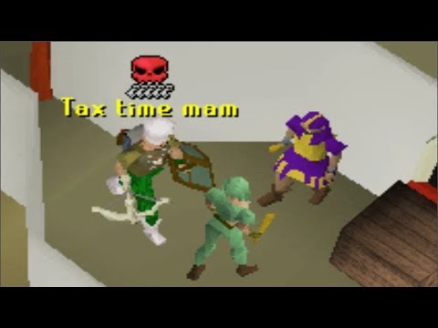 Taxing Players on Runescape