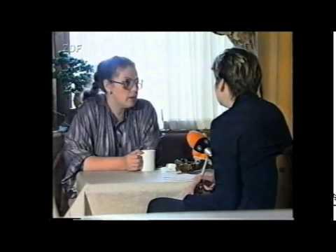 German old programm about russian writer Alexandra Marinina