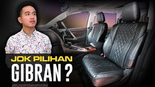 Gibran Berkunjung ke SIM Auto Interior