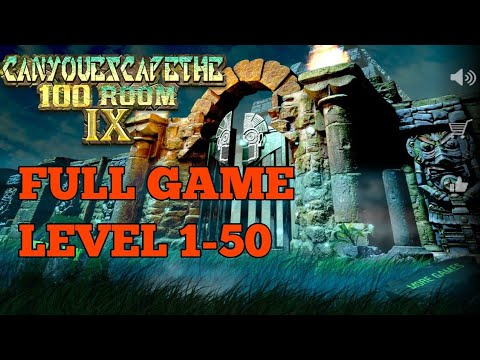 Can You Escape The 100 Room IX FULL GAME  Level 1 - 50 Walkthrough (100 Room 9)