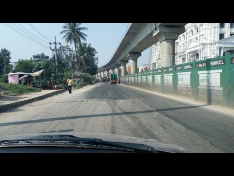 Bangalore Metro Phase 2 Kanakapura road construction