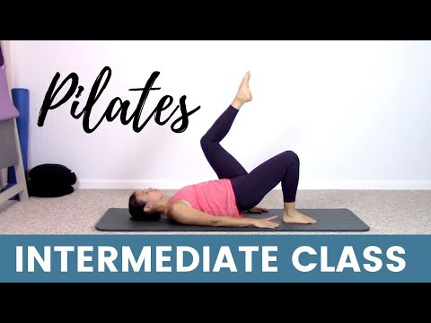 15 Minute at home Pilates workout