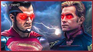 HOMELANDER VS SUPERMAN, QUEM GANHARIA?