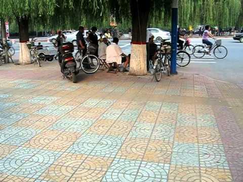 Straßenimpressionen Gaobeidian